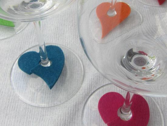 Bild von Glasmarker Herzen