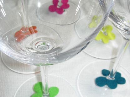 Bild von Glasmarker Blumen