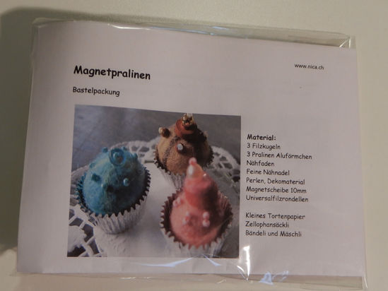 Picture of Bastelpackung Magnetpralinen
