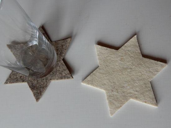 Bild von Filzsterne 12 cm