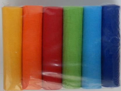 Picture of Industriefilz 3mm Regenbogenfarben