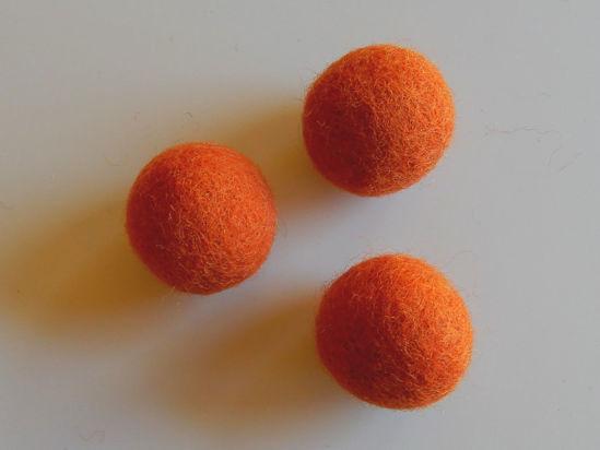 Picture of Filzkugel orange