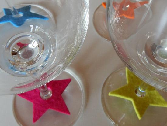 Bild von Glasmarker Sternen